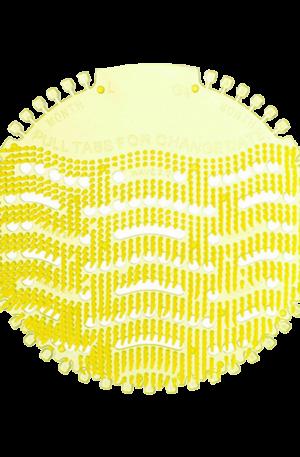 Urinal Screen Yellow Lemon by Ardrich Adsan