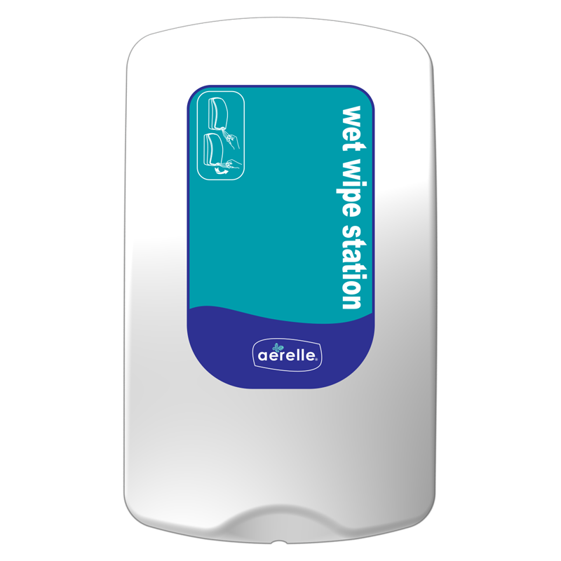 Antibacterial Wet Wipe Dispenser by Ardrich Aerelle