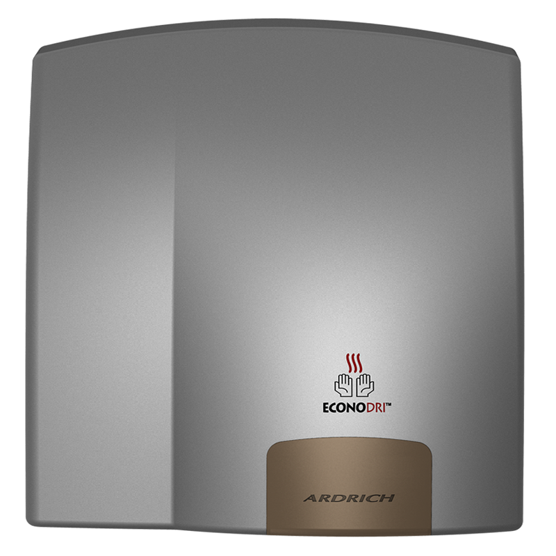 Ardrich Hand Dryer A256PS EconoDri Silver