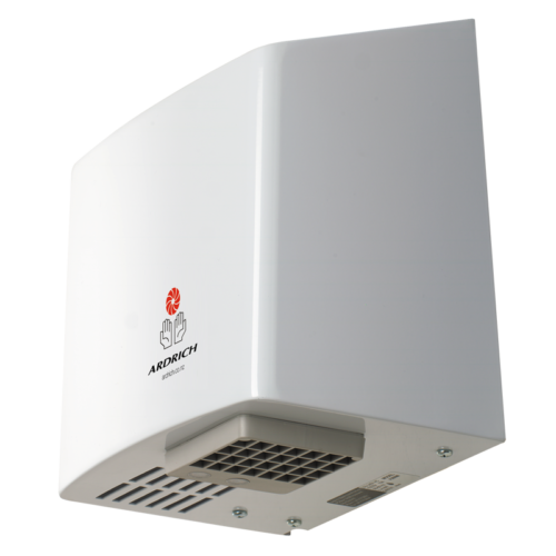 Ardrich Hand Dryer A260M Stainless Steel White Side